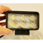 Proiector auto LED dreptunghiular 18W