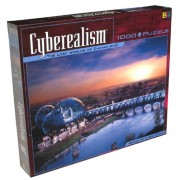 Cyberealism The Lost Worlds of Chayan Khoi: Bridge To A New World 1000 Piece Puzzle