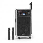 VONYX ST-100 MK2, sistem audio portabil PA, Bluetooth, CD, USB, SD, MP3, acumulator, UHF (Sky-170.010)