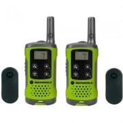 Motorola PMR rádió zöld 2 db TLKR T41 P14MAA03A1BP PMR T41, Motorola (1381799)