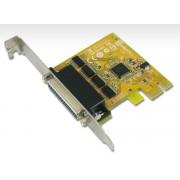 Sunix SER6456A PCIE 4-Port Serial RS-232 Card