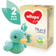 Milupa Milumil 2 lapte formula de continuare, partial fermentata 6-9 luni, 600 g