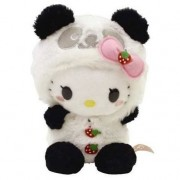Sanrio Hello Kitty Panda with Motion Activated Sound Plush Doll (japan import)