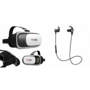 QWERTY VR Box And Headset(Reflect Headset) for Samsung J7 Prime