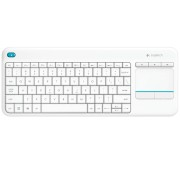 Tastatura Logitech Wireless K400 Plus Alba