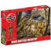 Airfix - WWII British Infantry, set de figuras (Hornby A02718)