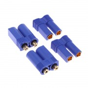 10 Pairs EC5 Device Connector Plug for RC Car Plane Helicopter Multi-Copter Free Shipping