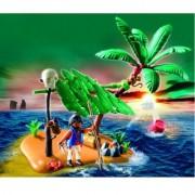Playmobil - 5138 - Jeu De Construction - Ile Déserte Et Naufragé