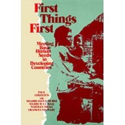 First Things First by Paul Streeten