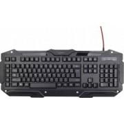 Tastatura Gaming Gembird KB-UMGL-01 Neagra
