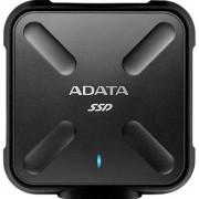 SSD Extern A-DATA SD700, 512GB, USB 3.1, rezistent la apa si praf - certificat IP68 (Negru)