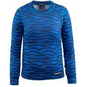 Craft Mix and Match Maglietta ciclismo Bambini blu Magliette a maniche lunghe