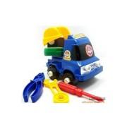 Monterbar leksaks-lastbil
