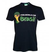 T-Shirt - Collection Officielle - Coupe Du Monde De Football Au Bresil - Fifa World Cup Brasil 2014 - Tee Shirt Taille Adulte