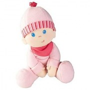 HABA Snug-up Doll Luisa 8 First Baby Doll - Cuddly and Machine Washable for Ages Birth and Up