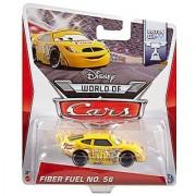 Disney World of Cars Piston Cup Die-Cast Vehicle Fiber Fuel No. 56 #13/16 1:55 Scale
