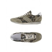 LEATHER CROWN - CHAUSSURES - Sneakers & Tennis basses - on YOOX.com