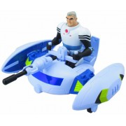 Bandai Ben 10 Ultimate Alien 37965 Max y su nave de fontanero - Nave espacial transformable con figura de acción