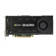 NVIDIA Quadro K4200 - Grafikkarten - Quadro K4200 - 4 GB GDDR5 - PCIe 2.0 x16 DVI, 2 x DisplayPort - für Workstation Z440, Z640, Z840