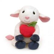 "Apple Park Picnic Pal Organic 9"" Plush Toy, Lamby"