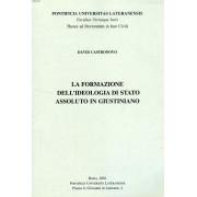 La Formazione Dell'ideologia Di Stato Assoluto In Giustiniano (Tesi)