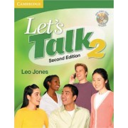 Let's Talk Level 2 Student's Book with Self-study Audio CD by Leo Jones