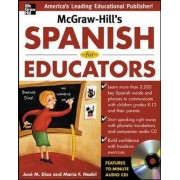 McGraw-Hill's Spanish for Educators (Book Only) by Jose Diaz