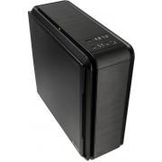 anidees AI-06B-V2 Aluminium ATX PC Gaming behuizingen mit SD Card Reader, Stoffilters,fancontroller, USB3.0x2, USB2.0x2,support Wasserkoeling