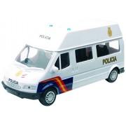 NEWRAY 56083 - Forze Dell' Ordine Van Cuerpo Nacional De Policia, Scala 1:32, Die Cast, Bianco