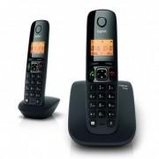 Gigaset A 530 DUO Cordless Landline Phone(Black)