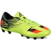Adidas MESSI 15.4 FXG Men Football Shoes(Green)