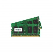 Crucial 32GB Kit (16GBx2) DDR3L 1600 MT/s (PC3L-12800) SODIMM Memory CT2KIT204864BF160B