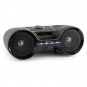 LED Auna Boombastic Bluetooth Boombox USB SD MP3 AUX FM (MG5-Boombastic bl)