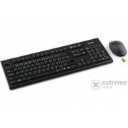 Tastatură A4Tech 7100N HU Office + mouse USB, negru