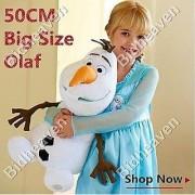 18 Big Cute Frozen Olaf Snowman Snow Man Soft Plush Stuffed Teddy Doll Toy