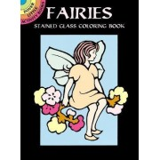 Fairies Stained Glass Coloring Book by Marty Noble
