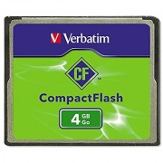 Verbatim 4GB CompactFlash Memory Card 95188