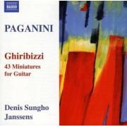 N. Paganini - Ghiribizzi:43 Miniatures (0747313256679) (1 CD)