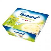 Humana Iaurt cu gust de banane 4x100 g 6m+
