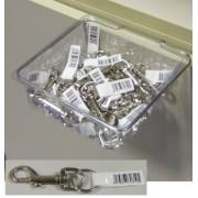 Box 20 moschettoni redini 13x73 con anello