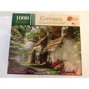 Cottages 1000 Piece Jigsaw Puzzle-Carnation Cottage