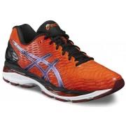 asics Gel-Nimbus 18 Shoe Men Flame Orange/Black/Silver 42,5 Neutral Laufschuhe