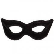 Masker zwart fluweel