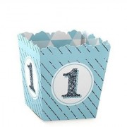 1st Birthday Boy - Fun to be One - Candy Boxes Party Favors (Set of 12)