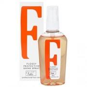 Kallos Flossy Protective Shine Spray 80ml Haarlack für Frauen Schützendes Spray für glänzendes Haar