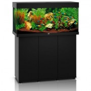 Juwel Rio 180 SBX akvárium se skříňkou - tmavé dřevo