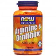 Now Foods Arginine+ornithine 250 Cps