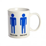 """This Is You, This Is Me Mug"""
