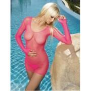 Rochie Net cu bikini - rosu
