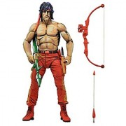 NECA Rambo 7 First Blood Part II Action Figure (Classic Video Game Appearance)